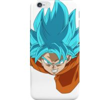 Dragon Ball Z - Super Saiyan God Goku iPhone Case/Skin