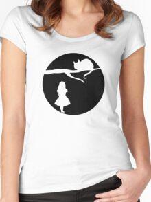 Alice in Wonderland. Women's Fitted Scoop T-Shirt