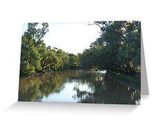 Combo Waterhole /Billabong  Greeting Card