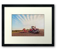 Streaky sky  Framed Print