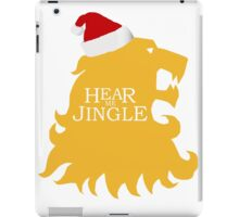 Hear me jingle iPad Case/Skin