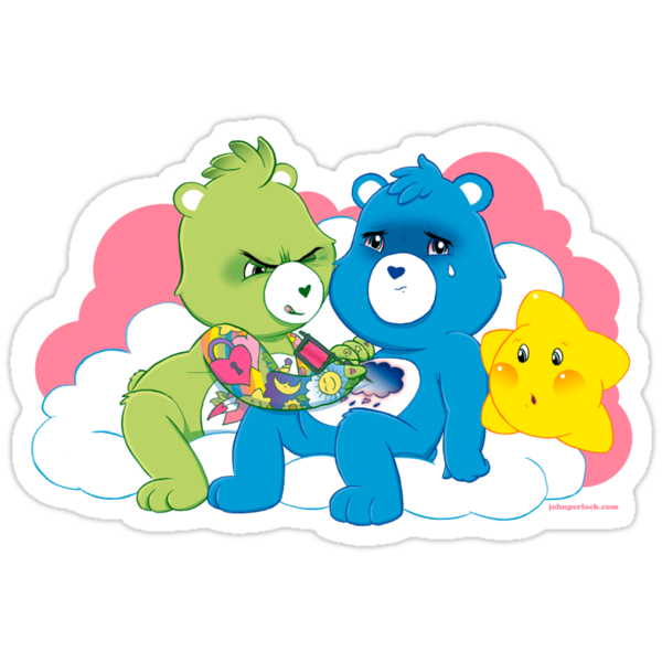 Care Bears Ink by John Perlock