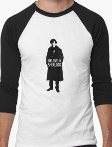 BELIEVE SHERLOCK Men's Baseball ¾ T-Shirt