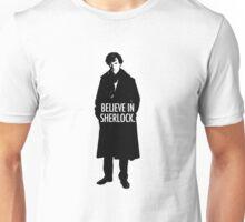 BELIEVE SHERLOCK Unisex T-Shirt