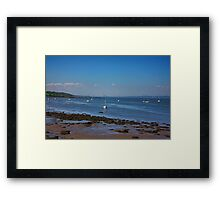 All the way to Longannet Framed Print