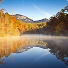Table Rock State Park Autumn Sunrise - Balance by Dave Allen