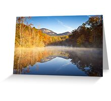 Table Rock State Park Autumn Sunrise - Balance Greeting Card
