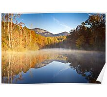 Table Rock State Park Autumn Sunrise - Balance Poster