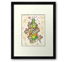 """Beer Will Make It Better"" Framed Print"