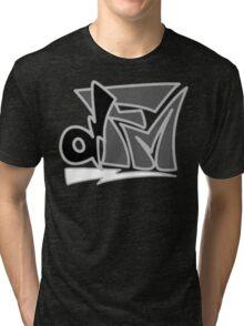 "DeaFM Record Co. - ""dFM"" Logo Tri-blend T-Shirt"