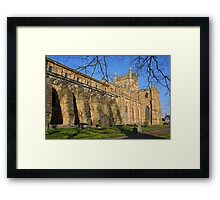The Abbey Church Framed Print