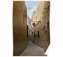 The Silent City - Mdina, the Ancient Capital of Malta Poster