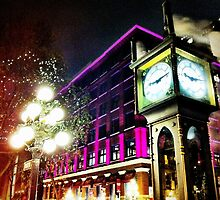 Gastown Clock (color) by RockstarJedi