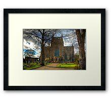 Abbey Church Framed Print