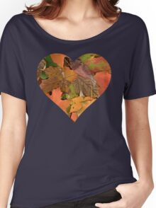 I Heart Fall Women's Relaxed Fit T-Shirt