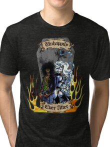 Unhappily Ever After - Lady Death & Evil Ernie Tri-blend T-Shirt