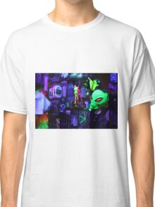 alien abduction glowing photo Classic T-Shirt
