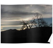 January Sunset (3) - Colorado Springs Poster
