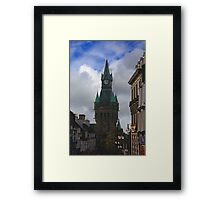 Fairytale Tower Framed Print