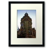 City Chambers Tower Framed Print