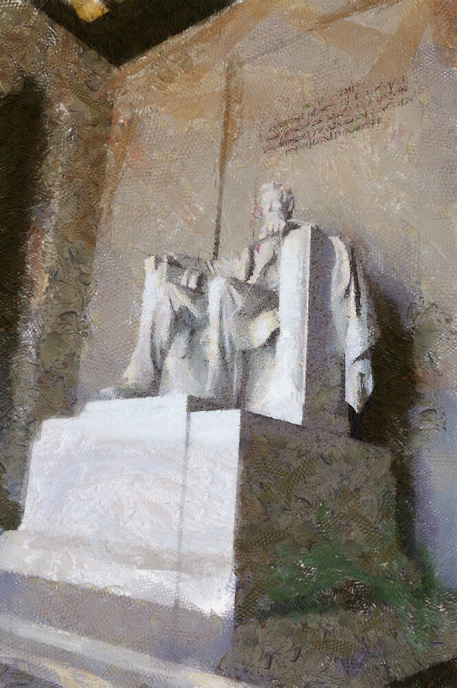 abraham lincoln statue by reycaribe