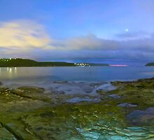 Middle harbour panorama by donnnnnny
