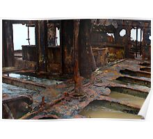 Rusty Wreck Poster