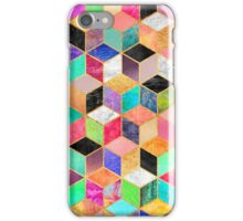 Colorful Cubes iPhone Case/Skin