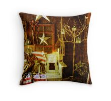 Country Collectables Throw Pillow