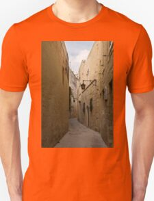 The Silent City - Mdina, the Ancient Capital of Malta Unisex T-Shirt