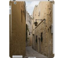 The Silent City - Mdina, the Ancient Capital of Malta iPad Case/Skin