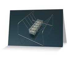 Newtons Cradle Greeting Card