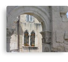 an imperial window Canvas Print