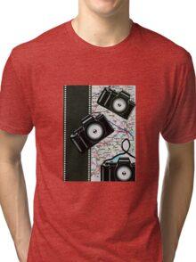 Camera Shy Tri-blend T-Shirt