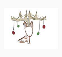 Christmas Deer One Piece - Short Sleeve