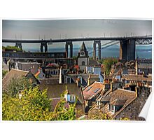 Ferry Rooftops Poster