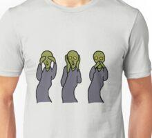 Hear, See and Scream! Unisex T-Shirt