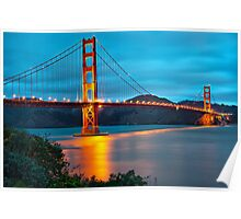 The Golden Gate - San Francisco, California Poster
