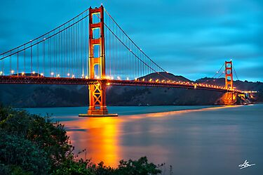 The Golden Gate - San Francisco, California by Gregory Ballos | gregoryballosphoto.com