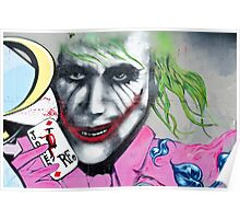 Graffiti Joker Poster