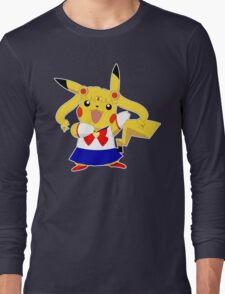 Sailor Pikachu Long Sleeve T-Shirt