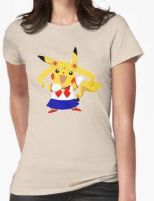 Sailor Pikachu Womens Fitted T-Shirt
