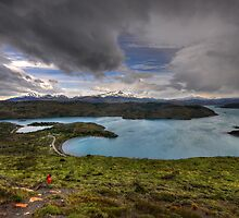 The Lakes of Torres del Paine #3 by Peter Hammer
