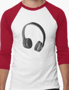 """Beats"" by dre style Headphones Men's Baseball ¾ T-Shirt"