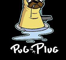 Pug in a Plug by OLLeHHHH