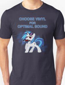 Choose Vinyl Unisex T-Shirt