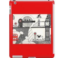Pug in the city iPad Case/Skin