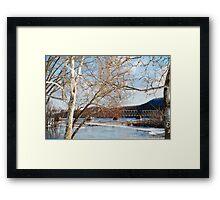 Railroad Bridge 1 Framed Print