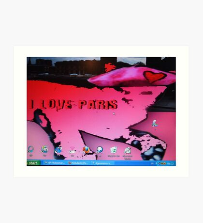 My Screensaver. Art Print