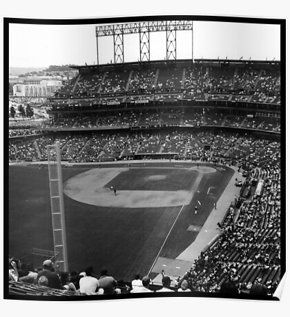 At&t Park: Baseball Photograph Poster